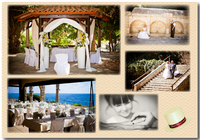 Peyia Town Hall & Sea View Taverna wedding package