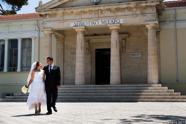 Paphos Town Hall wedding by Paphos Wedding Company