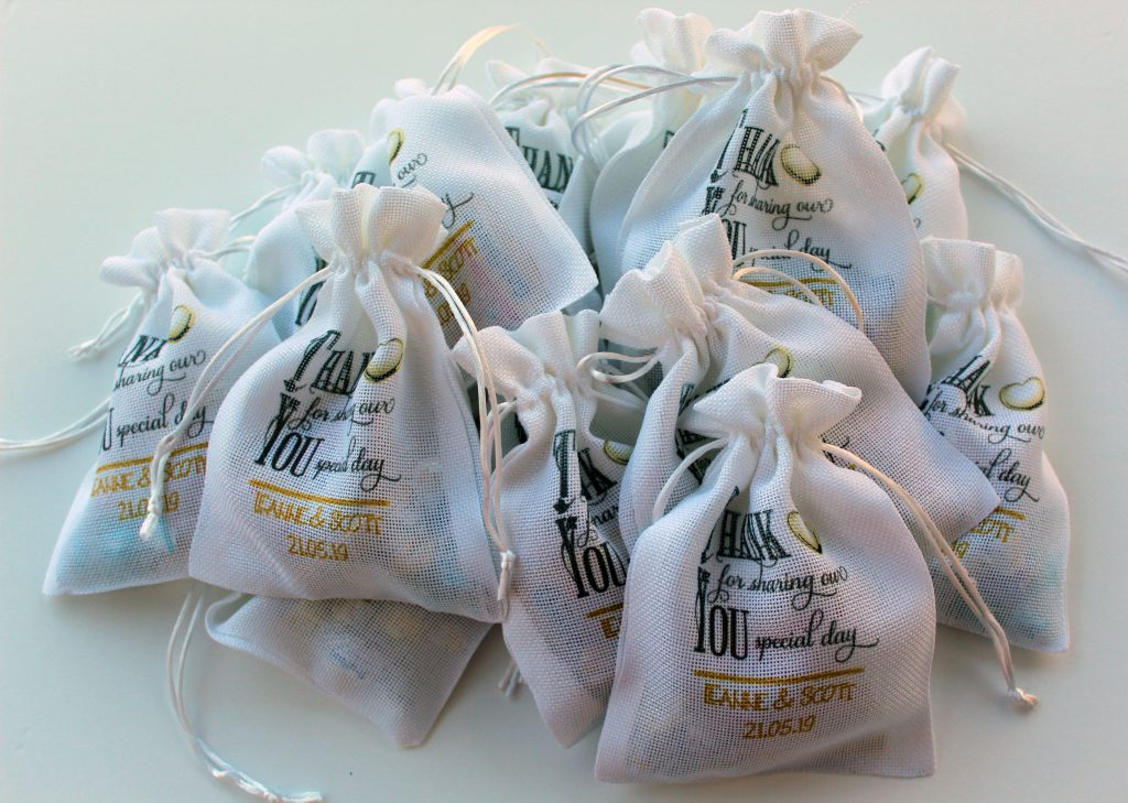 Favour Bags - white
