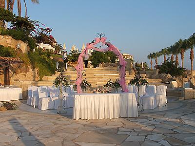 Coral Beach Hotel Wedding