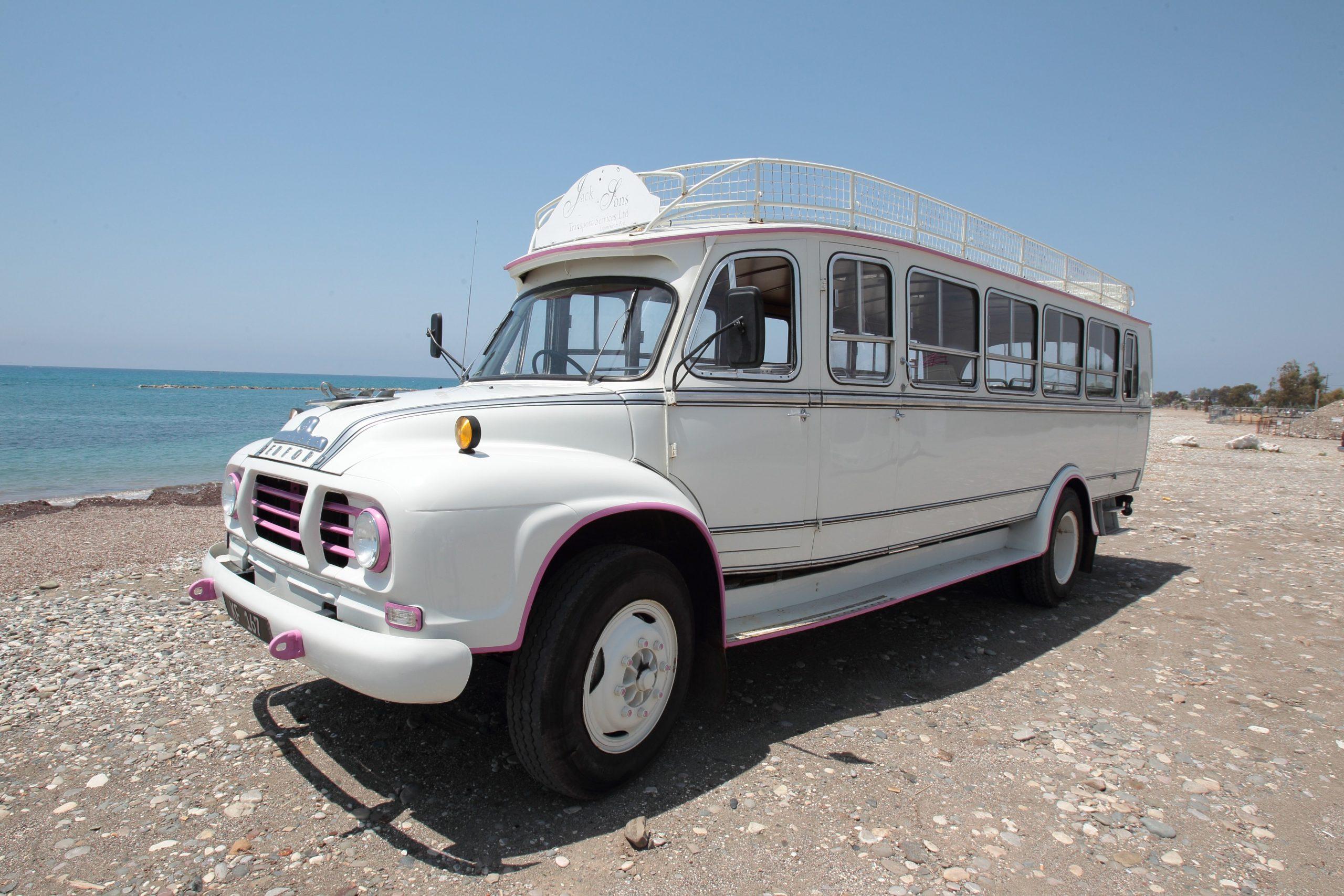 32 seater village bus - white